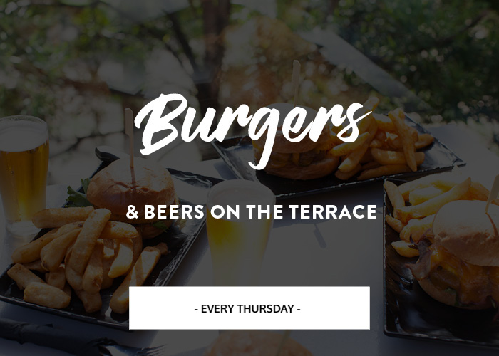 LPH Burgers & Beers on the Terrace Every Thursday