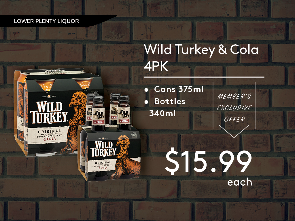 Wild Turkey & Cola